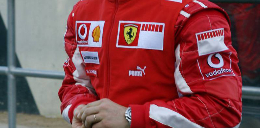 Schumacher satisfied with Ferrari progress