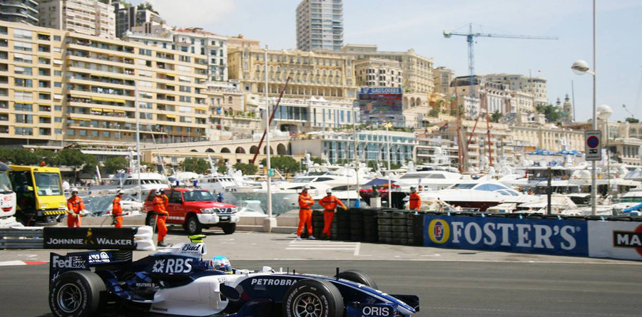 Wurz fastest on Monaco GP Thursday