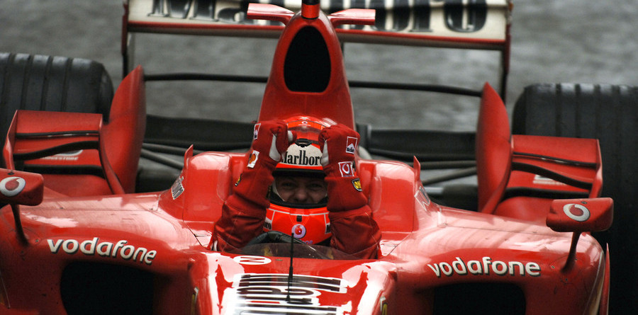 Schumacher takes points lead with China victory