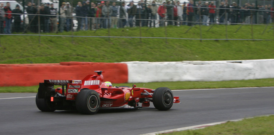 Massa takes over on day two at Spa