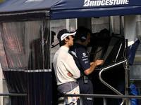 Nakajima meets Barcelona sun with speed