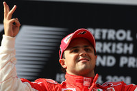 Massa wins third Turkish Grand Prix in a row
