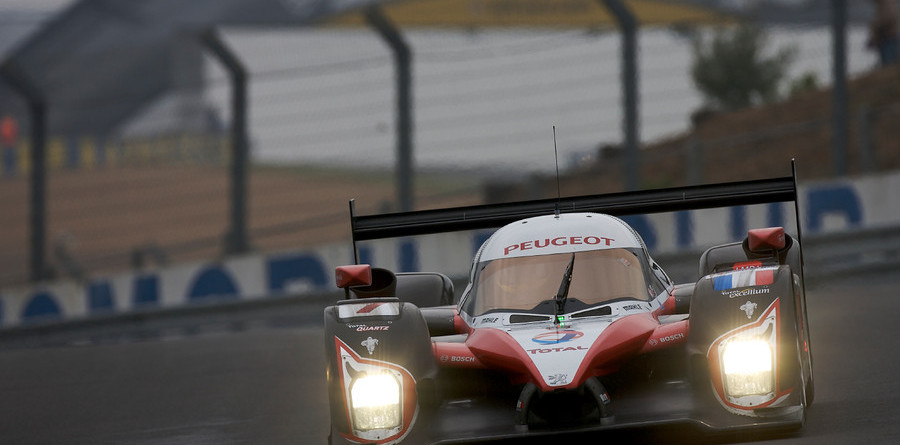 Peugeot recovers from test day crash