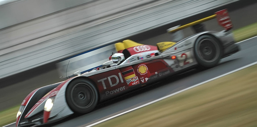 McNish leads with six hours remaining