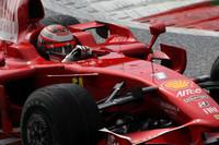 Raikkonen tops practice ahead of BMW Saubers