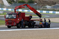 Red Bull F1 halts first RB5 test