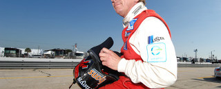 ALMS Didier Theys hangs up the helmet