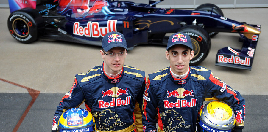 Toro Rosso shows off new STR4 in Barcelona