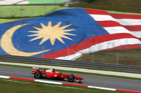Ferraris lock out Malaysian Friday practice
