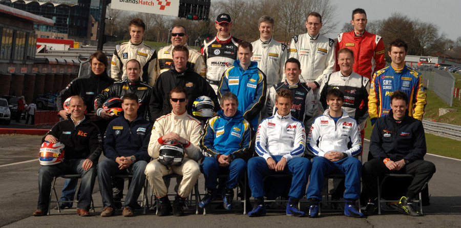 Bumper 23-car grid for BTCC in 2010