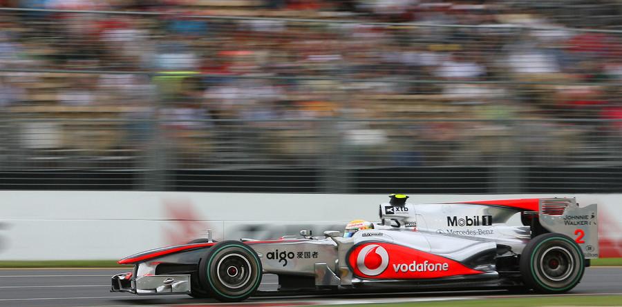 Hamilton tops Friday practice in Australia