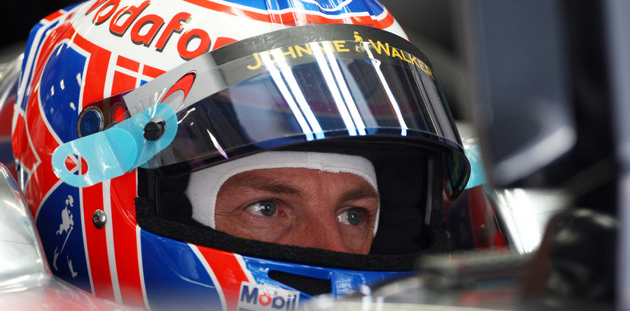 Button leads McLaren 1-2 in action-packed China