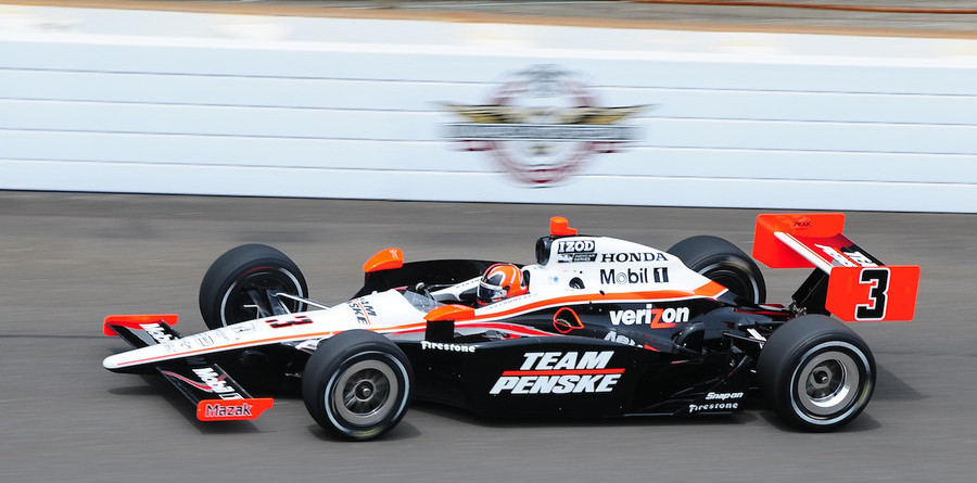 Castroneves on top for Indy 500's Fast Friday