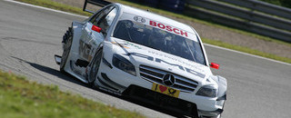 DTM Di Resta edges Spengler for Oschersleben pole