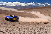 Al-Attiyah now an hour ahead as Sainz falters