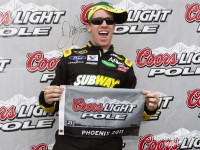 Edwards keeps Ford on top with Phoenix pole