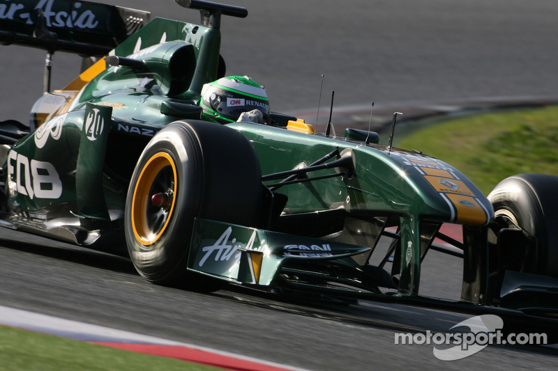 Team Lotus Barcelona test report 2011-03-10