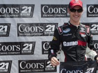 Logano pips Bayne for Nashville 300 pole