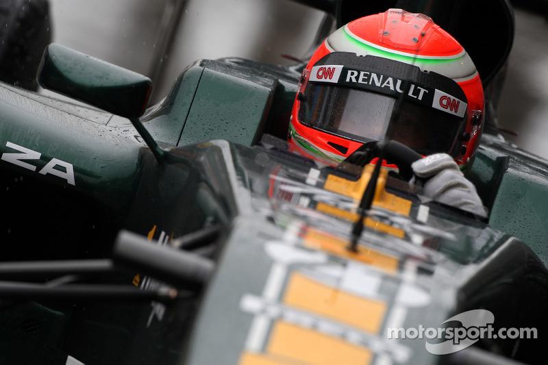 Turkish GP Team Lotus Friday Practice Report