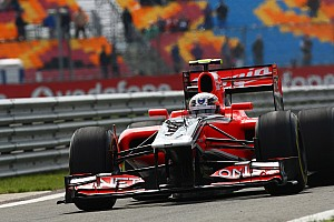 New exhaust causes problems for Virgin's Glock