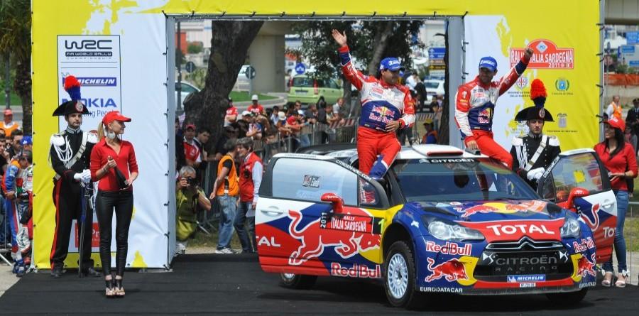 Loeb dominates in Rally d'Italia Sardegna
