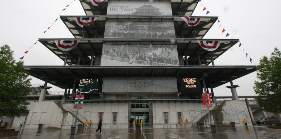 Indy 500 second practice day washed out
