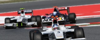 GP2 Pic leads Addax 1-2 Finish In Barcelona Feature Race