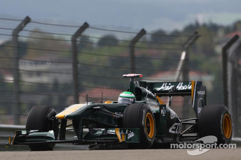 Team Lotus ready for Monaco GP at Monte Carlo