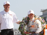 Reflections Of The 2011 Indy 500 Winner Wheldon
