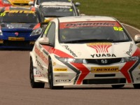 BTCC Wraps Up Oulton Park Race Action