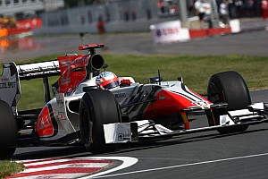 HRT Canadian GP Qualifying Report