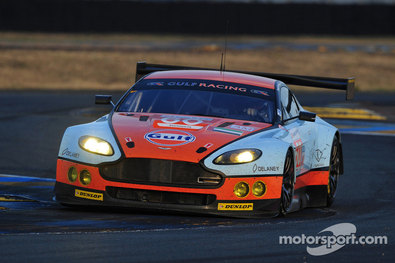 Gulf AMR Middle East Retires From Le Mans