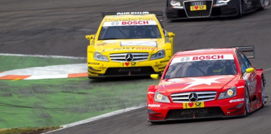 Mercedes Lausitz Race Report