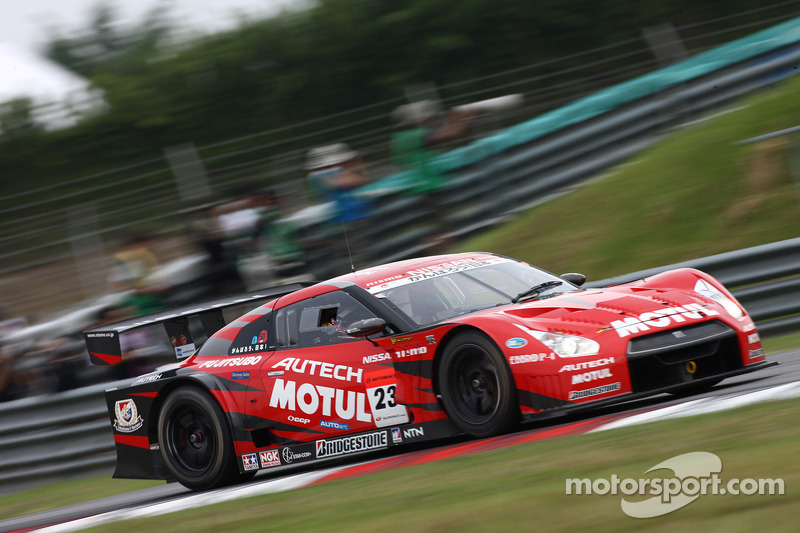 Benoit Treluyer Super GT Sepang Race Summary