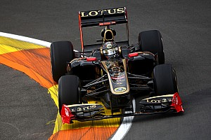 Lotus Renault European GP - Valencia Qualifying Report
