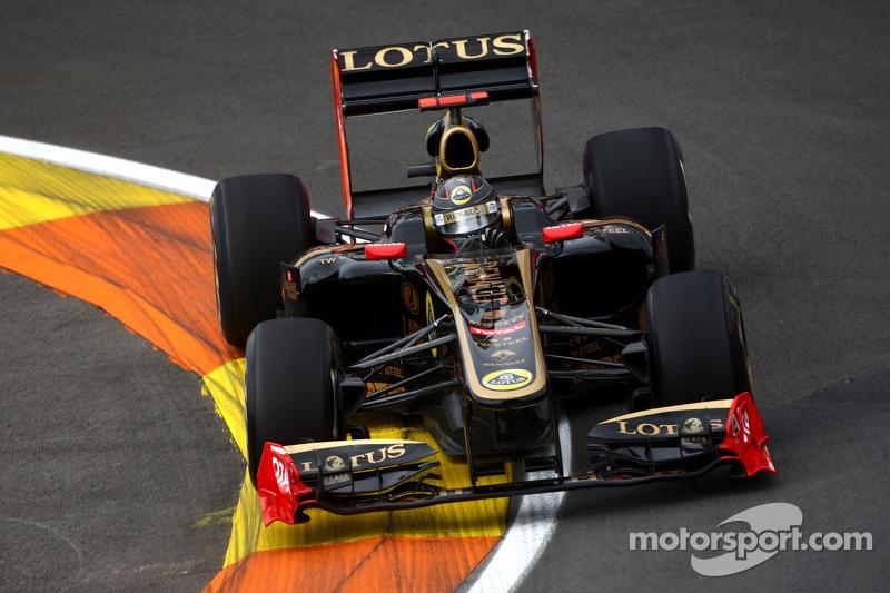 Lotus Renault European GP - Valencia Qualifying Report