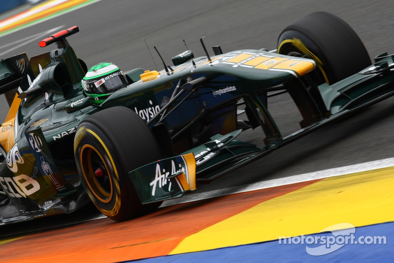 Team Lotus European GP - Valencia Race Report