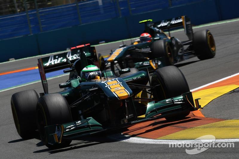Team Lotus Looking Forward To British GP At Silverstone
