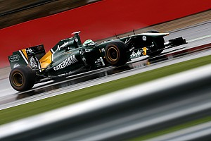Team Lotus British GP - Silverstone Friday Practice Report