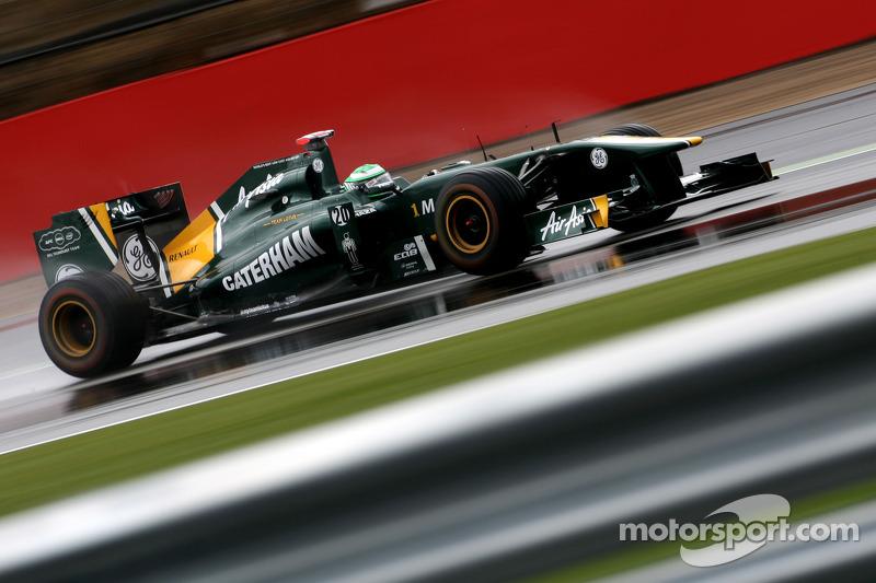 Team Lotus British GP - Silverstone Friday Practice Report