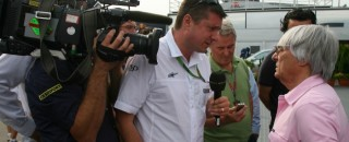 Bosses To Meet Ecclestone Over British F1 TV Deal