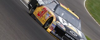 NASCAR's Jeff Burton Indianapolis Friday Media Visit