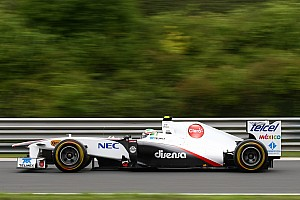 Sauber Hungarian GP Race Report