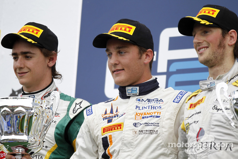 GP2 Series Budapest Race 2 Press Conference