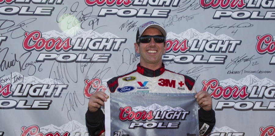 Biffle claims Sprint Cup pole in Michigan