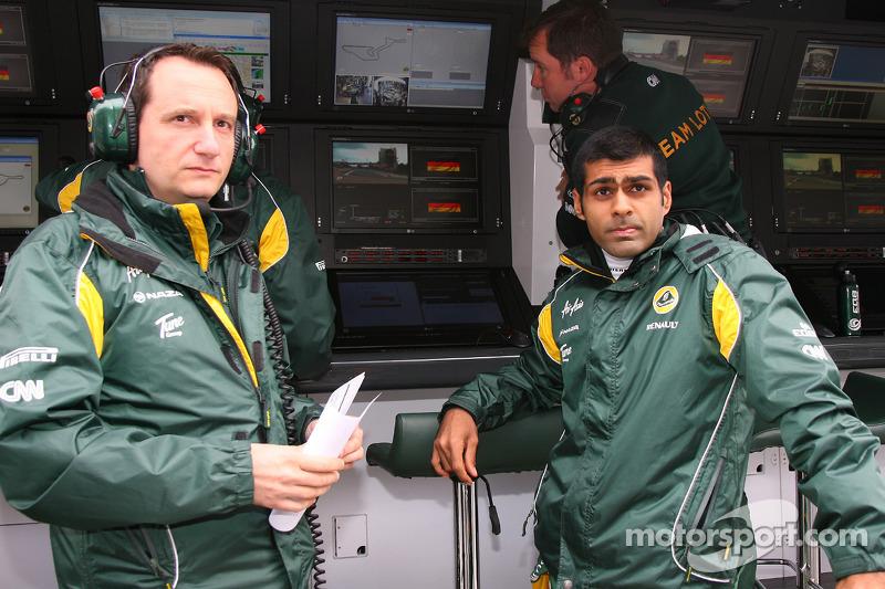 Chandhok 'looking at' Team Lotus race seat