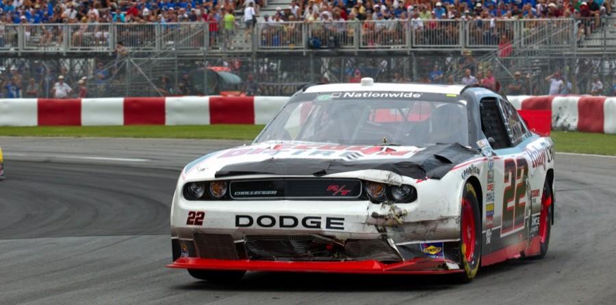Villeneuve struggles in Montreal race