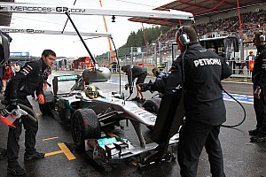 Formula 1 Stewards overrule 107pc cut for four drivers at Spa