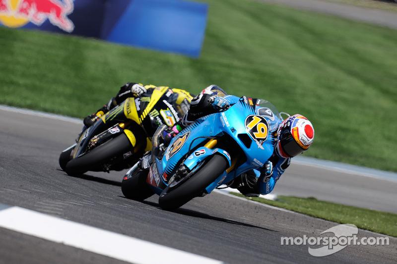Rizla Suzuki Indianapolis GP race report
