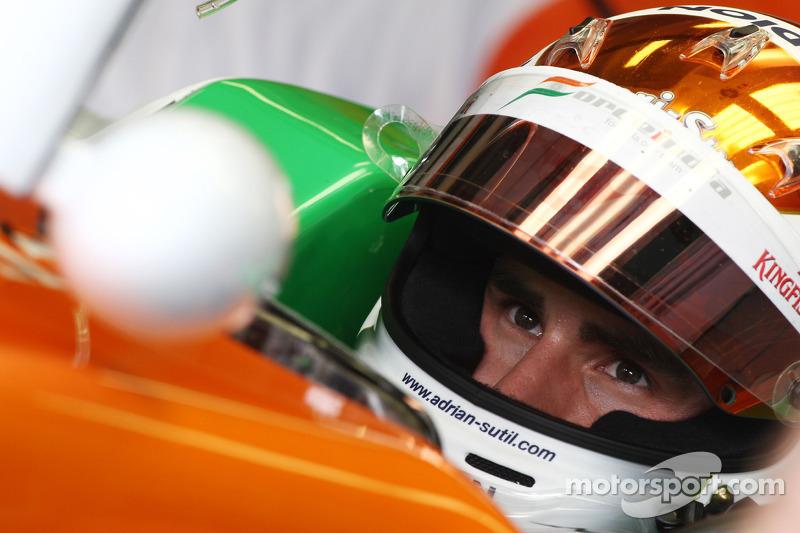 Force India's Sutil has fond memories of Italian GP at Monza